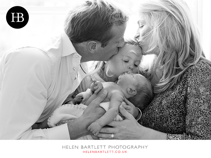 newborn baby and family photography in barnes sw13