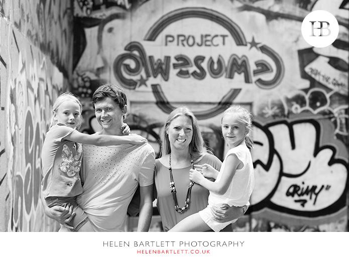 family photoshoot london landmarks southbank st pauls