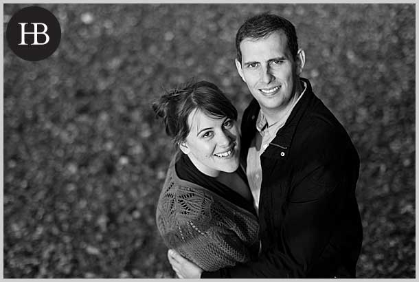 mary and joe engagement portrait