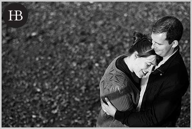 mary and joe engagement portrait