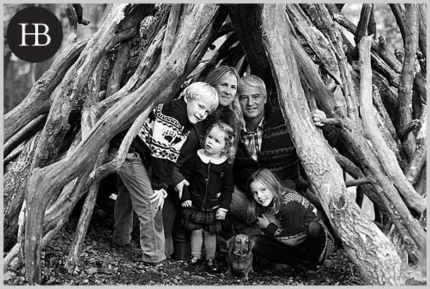 family portraits in wimbledon