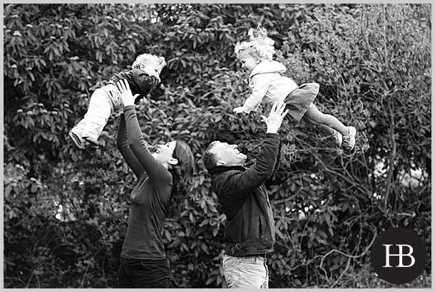 Family photo shoot in Cambridge