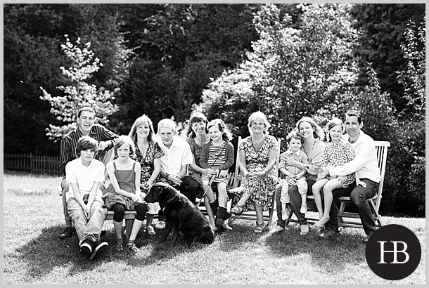 extended family photo shoot in suffolk