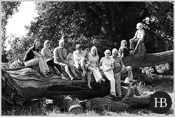 multi generational family portrait photography in suffolk