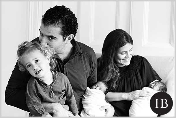 newborn twin photography in kensington and chelsea london