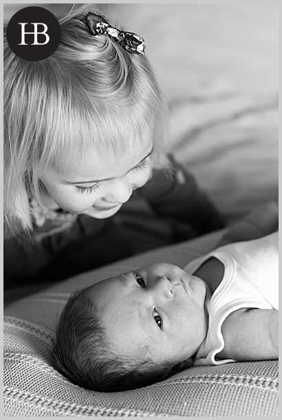 newborn baby and family portrait photography
