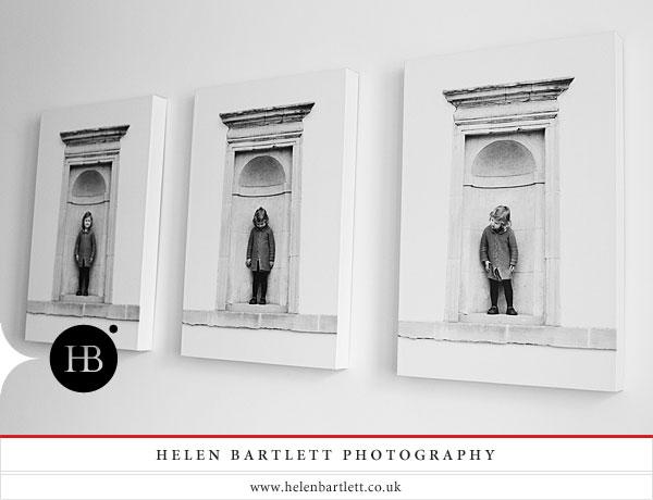 canvas prints a beautiful sequence of children portrait photographs