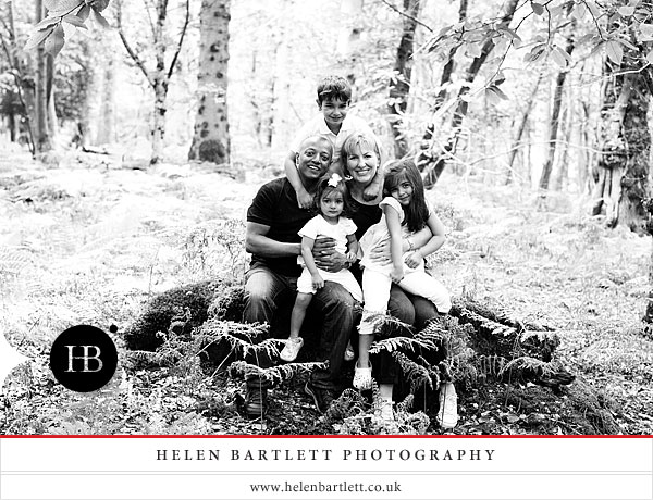 family photography on holiday in the new forest