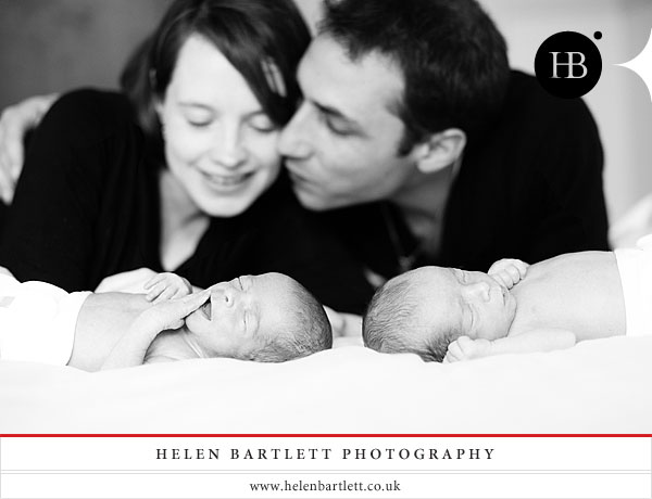muswell hill N10 newborn twins photographer
