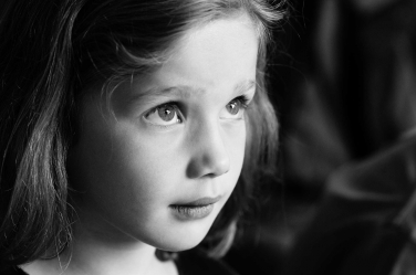 A stunning natural light portrait taken during a family lifestyle session.