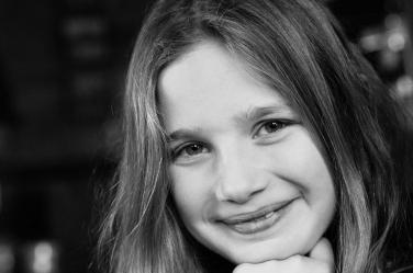 A casual teenage portrait by London professional photographer Helen Bartlett.