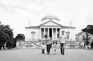 Chiswick House in London provides the backdrop for this family shoot. The family was visiting London and commissioned a photographer to capture their holiday to the capital.
