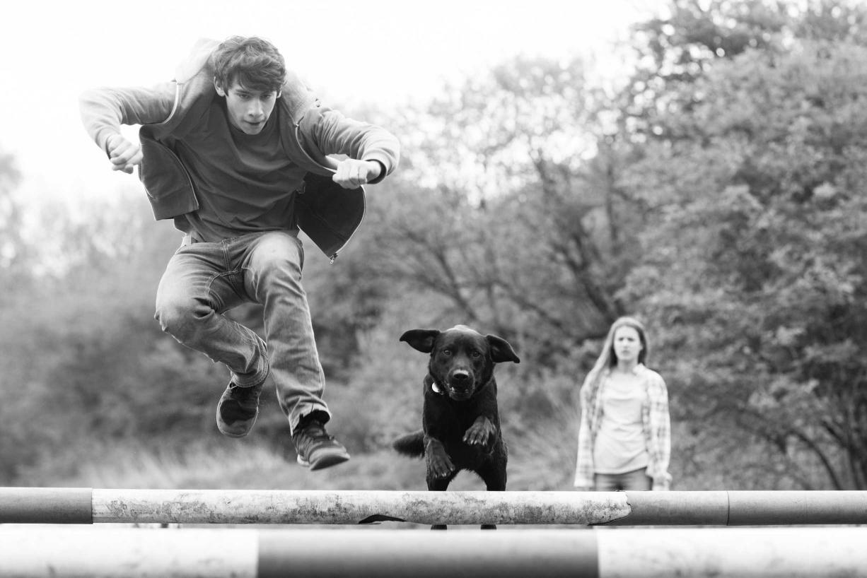 Wimbledon family photographer Helen Bartlett captures this split-second moment.