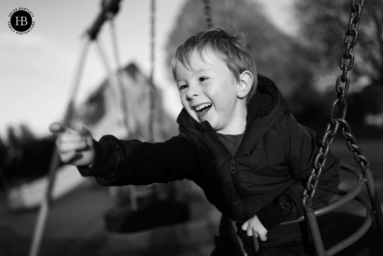 Boy on Swing shot with Canon 1DX Mark III