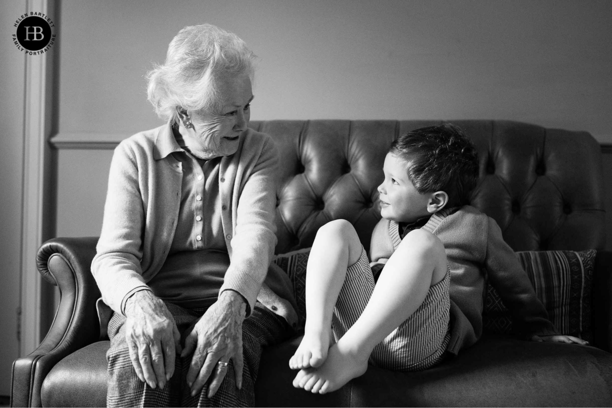 little-boy-talks-to-grandmother