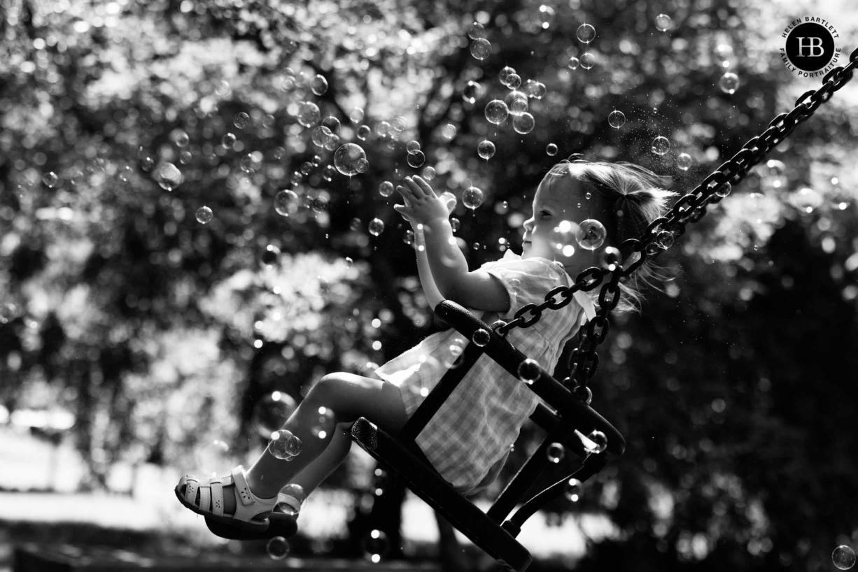 west-london-girl-on-swing